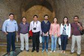 El alcalde y la concejala de Turismo reciben en el Museo Arqueol�gico a una delegaci�n de alcaldes ecuatorianos y a la edil de Desarrollo de Murcia