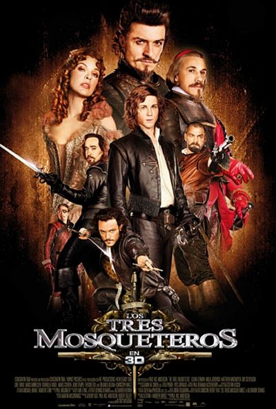 """Velasco movie programming continues this weekend with screenings of the film in three dimensions, """"The Three Musketeers"""" - 1"""