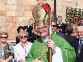 El obispo preside en Lorca la eucarist�a que he tenido lugar con motivo del Encuentro de Cofrad�as de la Regi�n de Murcia
