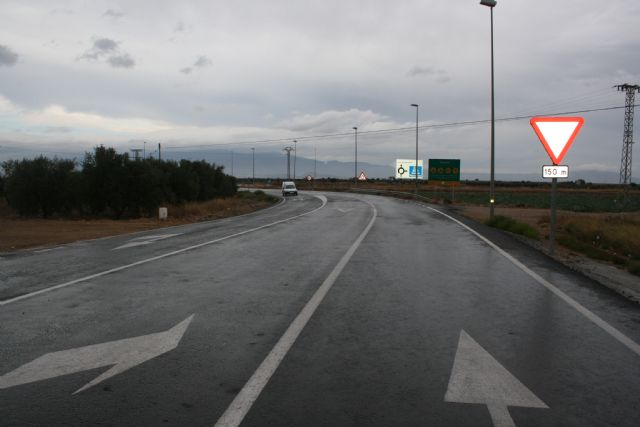 The Region invests 577,000 euros in the rehabilitation of the road RM-315 - 2