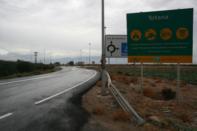 The Region invests 577,000 euros in the rehabilitation of the road RM-315 - 5