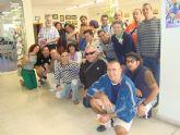 Los usuarios del Servicio de Apoyo Psicosocial realizan una salida programada para conocer el patrimonio cultural de la localidad vecina de Alhama