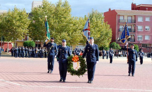 Autoridades municipales asisten al acto de jura de bandera en el marco de las II Jornadas de Caza, Turismo y Gastronomía, Foto 7