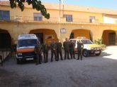 Una representación del Ejército de Tierra visita las dependencias de la Policía Local y Protección Civil de Totana