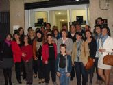 La candidata al senado del PP, María José Nicolás, visita la Asociación de Enfermedades Raras de Totana D´Denes