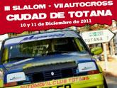El III Slalom y VII Autocross Ciudad de Totana tendán lugar el 10 y 11 de diciembre