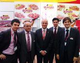 El ministro de Industria Turismo y Comercio, Miguel Sebasti�n visita el stand de ELPOZO ALIMENTACI�N en Sanghai