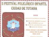 Cuatro grupos folklóricos participan este sábado en el II Festival Folklórico Infantil Ciudad de Totana