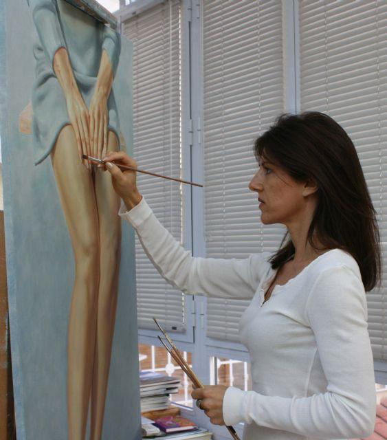 La obra de la pintora Perla Fuertes desembarca en París, Foto 4