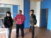 Autoridades municipales y el presidente de la delegación de FEDER en Murcia visitan las instalaciones del Centro de Conciliación de la Vida Familiar y Laboral del Polígono Industrial