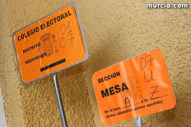 A las 18 horas había votado en la Región el 63´36% del electorado, Foto 1