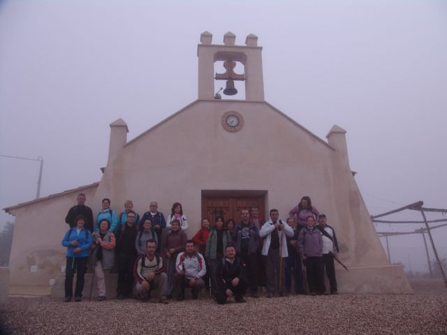 A total of 27 walkers gather at the route organized last weekend in the deputation of the Raiguero by the Department of Sports, Foto 1