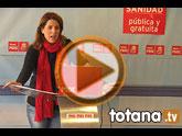 Rueda de prensa PSOE Totana. Valoración del pleno ordinario de noviembre 2011