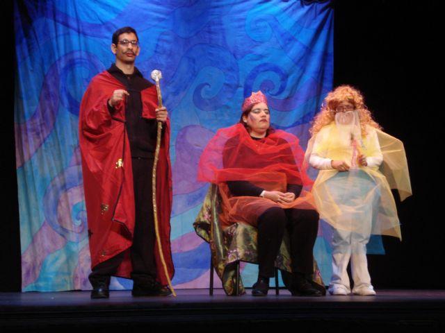 Actores con discapacidad intelectual de CEOM interpretan a Cervantes en el teatro Bernal, Foto 1