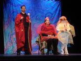 Actores con discapacidad intelectual de CEOM interpretan a Cervantes en el teatro Bernal