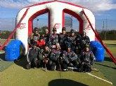 Entrenamiento de Pretemporada del equipo PBS TOTANA contra el equipo POKER (Malaga)