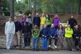 El club senderista de Totana llevó a cabo una nueva ruta por el entorno de Sierra Espuña