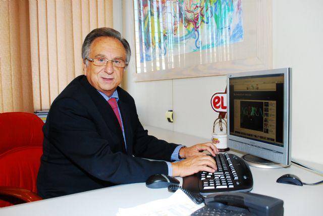 Tomás Fuertes será el pregonero de honor de las fiestas patronales de Mazarrón de este año, Foto 1