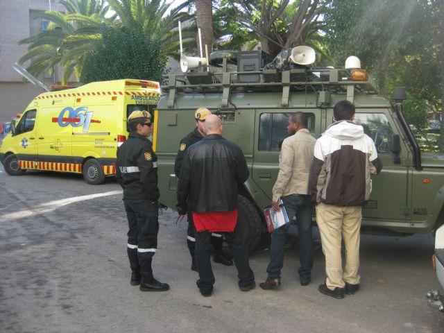 El Servicio de Emergencias Municipal de Protección Civil participa en las II Jornadas de Emergencias Sanitarias del 061, Foto 4