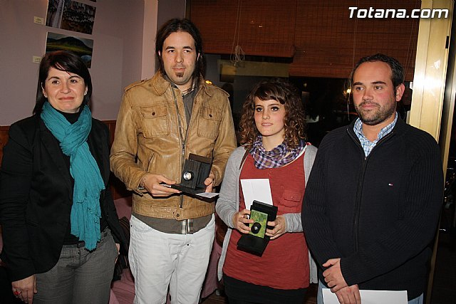 Entrega de premios Certamen Creartejoven´2011 en la modalidad de fotografía, Foto 1