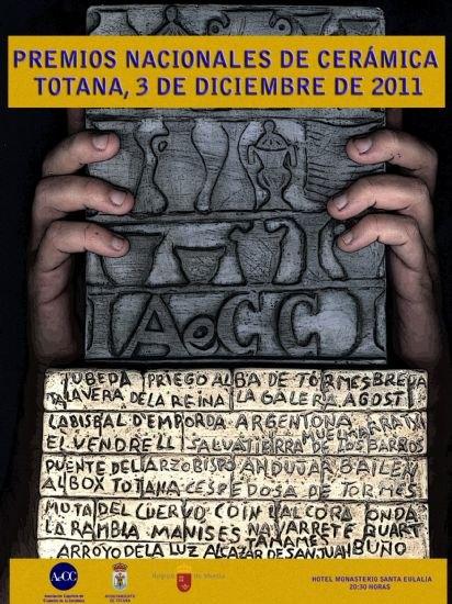 Totana acoge mañana la segunda edición de los Premios Nacionales de Cerámica´2011, Foto 1