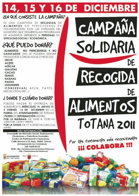 El ayuntamiento promueve una campaña solidaria de recogida de alimentos no perecederos dirigida a Cáritas en las dos parroquias y Adipsai, Foto 1