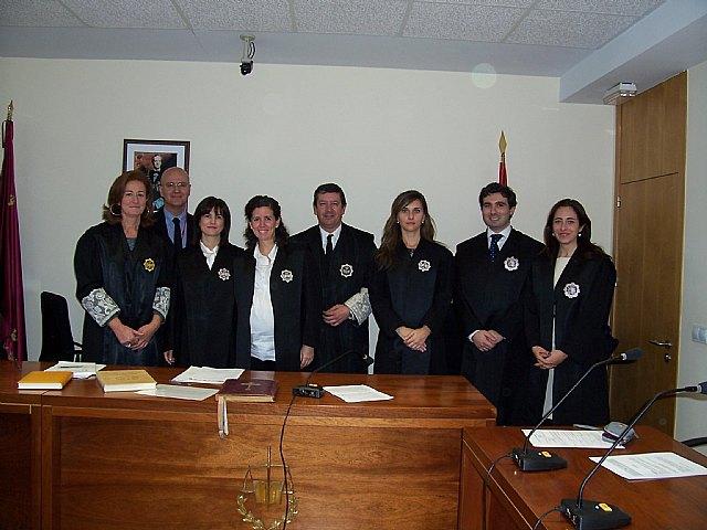 Juran el cargo dos Secretarios Judiciales titulares del Palacio de Justicia de Totana, Foto 2