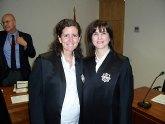 Juran el cargo dos Secretarios Judiciales titulares del Palacio de Justicia de Totana