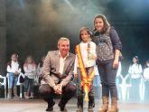 María Sánchez Moreno y Alfonso Marín Martínez reina y mister infantiles de las fiestas patronales