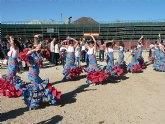 La fiesta rociera inunda de color y alegría las calles de Mazarrón