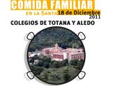 Comida de convivencia de las escuelas de Totana y Aledo a benificio de Anike-voluntarios