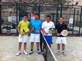 Fantástico ambiente en el II torneo de pádel Fiestas de Santa Eulalia 2.011