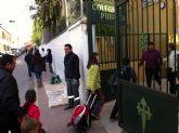 La concejalía de Mantenimiento Integral de la Ciudad lleva a cabo una campaña de repintado de las paredes de edificios públicos en los que se han registrado hechos vandálicos