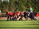 El Club de Rugby Totana jugó el primer amistoso de su historia contra el XV de Murcia B