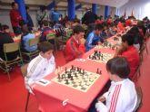 Un total de 58 escolares participaron en el torneo de ajedrez de Deporte Escolar organizado por la concejalía de Deportes