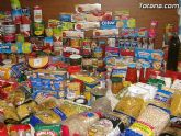 Cáritas y Adipsai reciben más de 700 kilos de comida y 200 litros de leche, aceite y zumos - 3