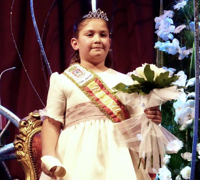 Athenea Hernández y Marina Cruz elegidas reinas juvenil e infantil de las fiestas patronales de San Javier - 1, Foto 1