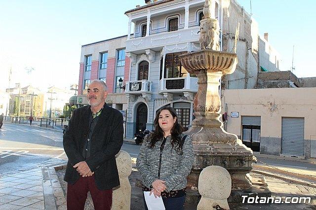 Totana las obras de restauraci n de la fuente juan de - Marmoles torre pacheco ...