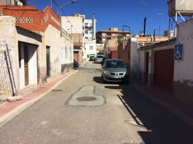 Works to improve the sewerage network in the alley of Valle del Guadalentín and Extremadura streets are awarded, Foto 1