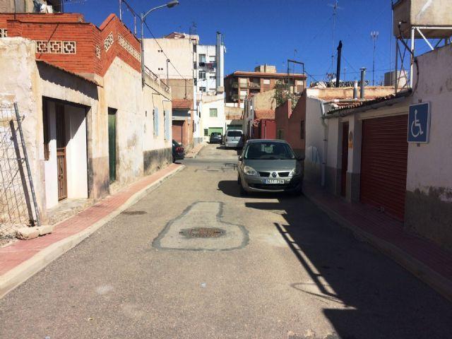 Se adjudican las obras de mejora de la red de alcantarillado en el callejón de la calle Valle del Guadalentín y calle Extremadura