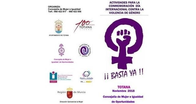 Two talks are held today and tomorrow in the activities to commemorate the International Day Against Gender Violence