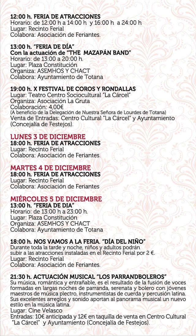 The program of the patron saint festivities of Santa Eulalia'2018, Foto 4
