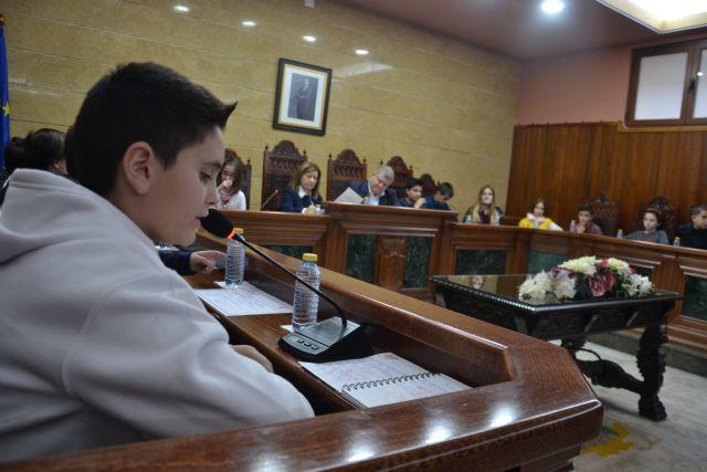 DÍA UNIVERSAL DE LA INFANCIA: Calasparra celebra el primer Pleno Infantil - 4, Foto 4