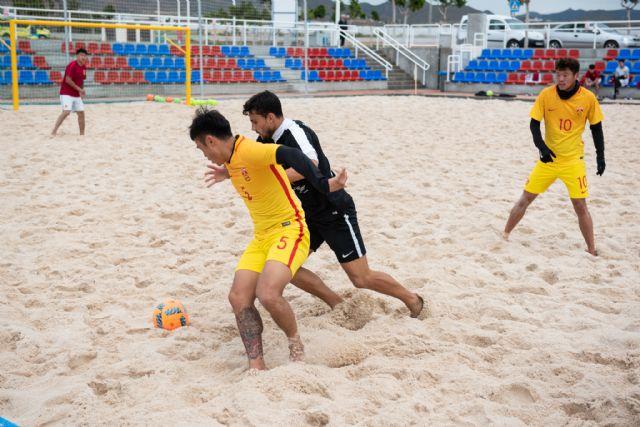 La Selección China de Fútbol Playa entrena en Mazarrón - 2, Foto 2