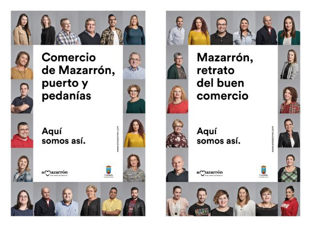 Las calles de Mazarrón presentan a los nuevos protagonistas de la campaña ´aMazarrón´ - 1, Foto 1