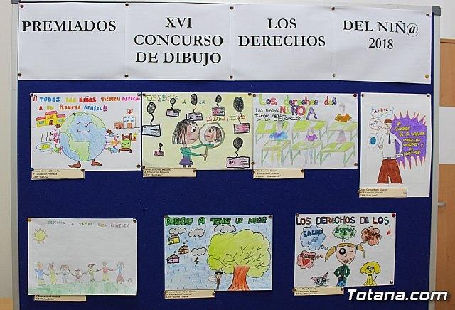 Se entregan los premios del XV Concurso de Dibujo de los Derechos del Niñ@ del 2018 - 2, Foto 2