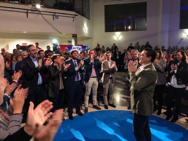 López Miras respalda la candidatura de José Miguel Luengo a la alcaldía de San Javier - 1, Foto 1