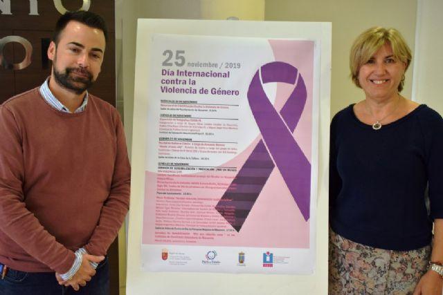 Mazarrón se une 'por un mundo sin violencia' para luchar 'contra la violencia de género' - 1, Foto 1