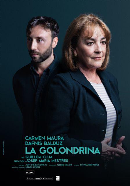 Carmen Maura llega a Torre Pacheco, con La golondrina, el domingo 24 de noviembre en el Centro de Artes Escénicas - 1, Foto 1