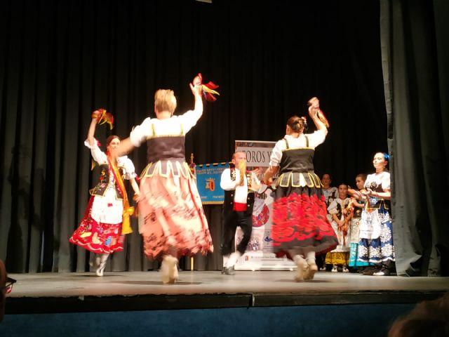 El Grupo de Coros y Danzas Virgen del Rosario de Torre Pacheco participó en el XVI Festival de Folclore Castellanos de Olid en Valladolid - 1, Foto 1
